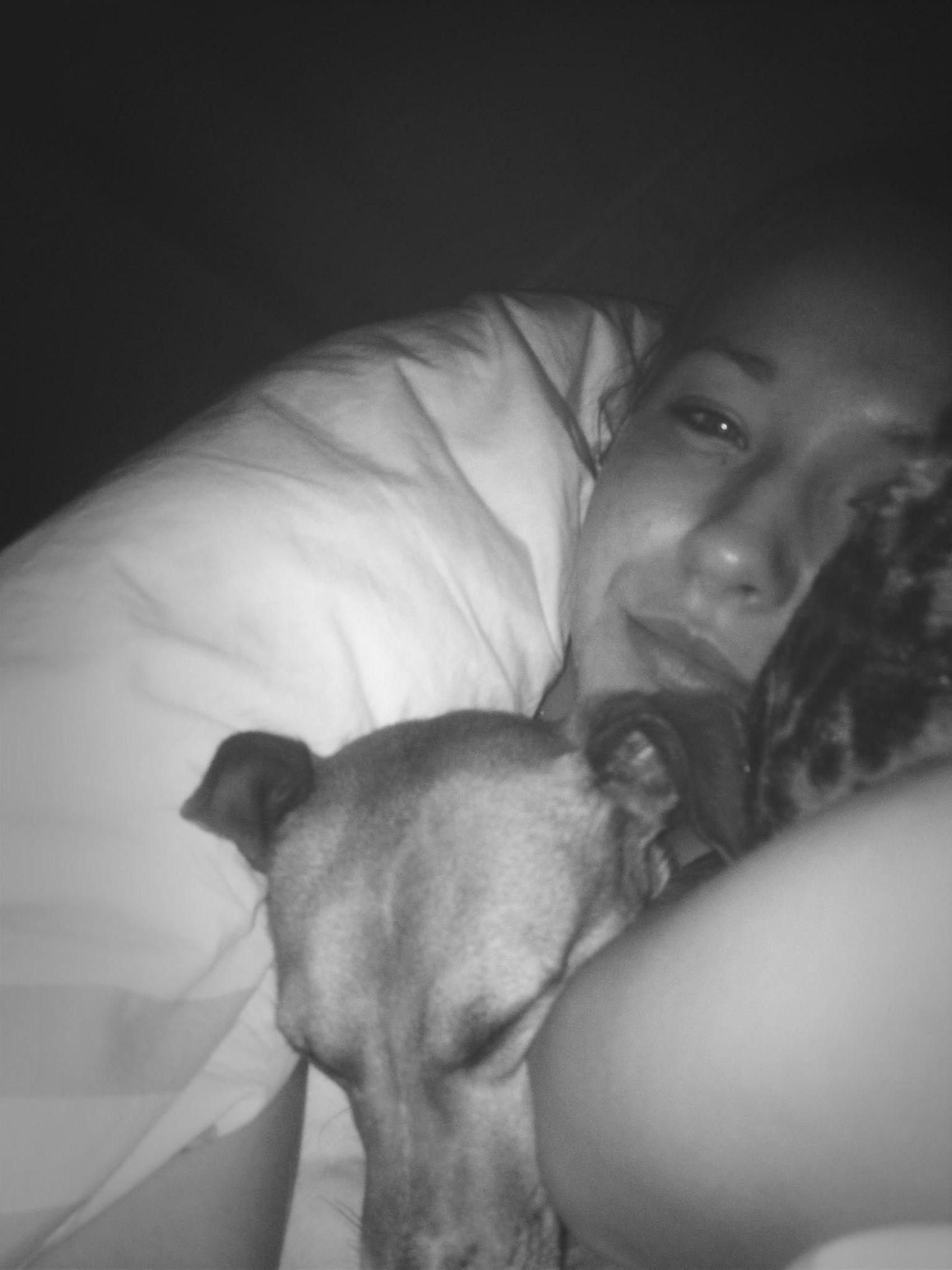 in meinen armen eingeschlafen ☺️ I Love My Dog