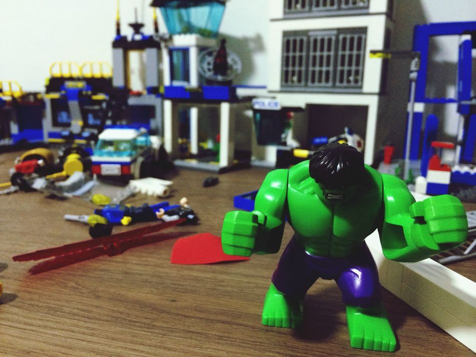 Only Hulk is capable of such destruction! Marvelcomics Theincrediblehulk Check This Out Randomshot