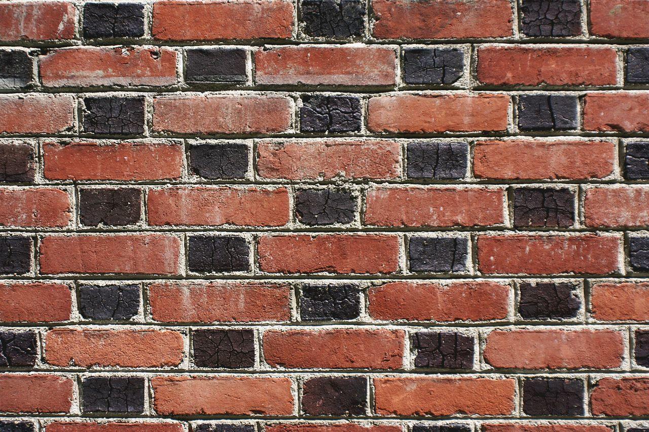 Bricks Brick Wall Brickporn Alley Wall Masonry Multi Colored Close-up Weathered Bricks