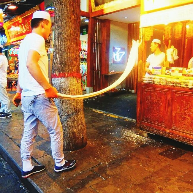 Store Cultures City Retail  Men People Adults Only Outdoors Day Permitted China
