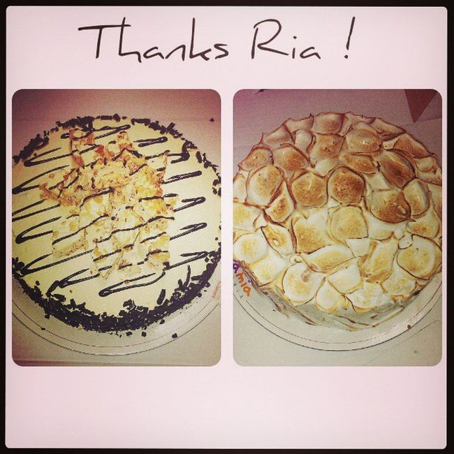 ice cream Cakes ! thanks ria! :) Food Is 💕