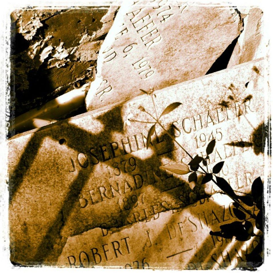 Death and Destruction. #Nola #neworleans #cemetery Headstone Pictureoftheday Neworleans Lafayettestcemetery Saveourcemeteries Shadows Fence Cemetery Instagram Mausoleum Picoftheday Grave NOLA