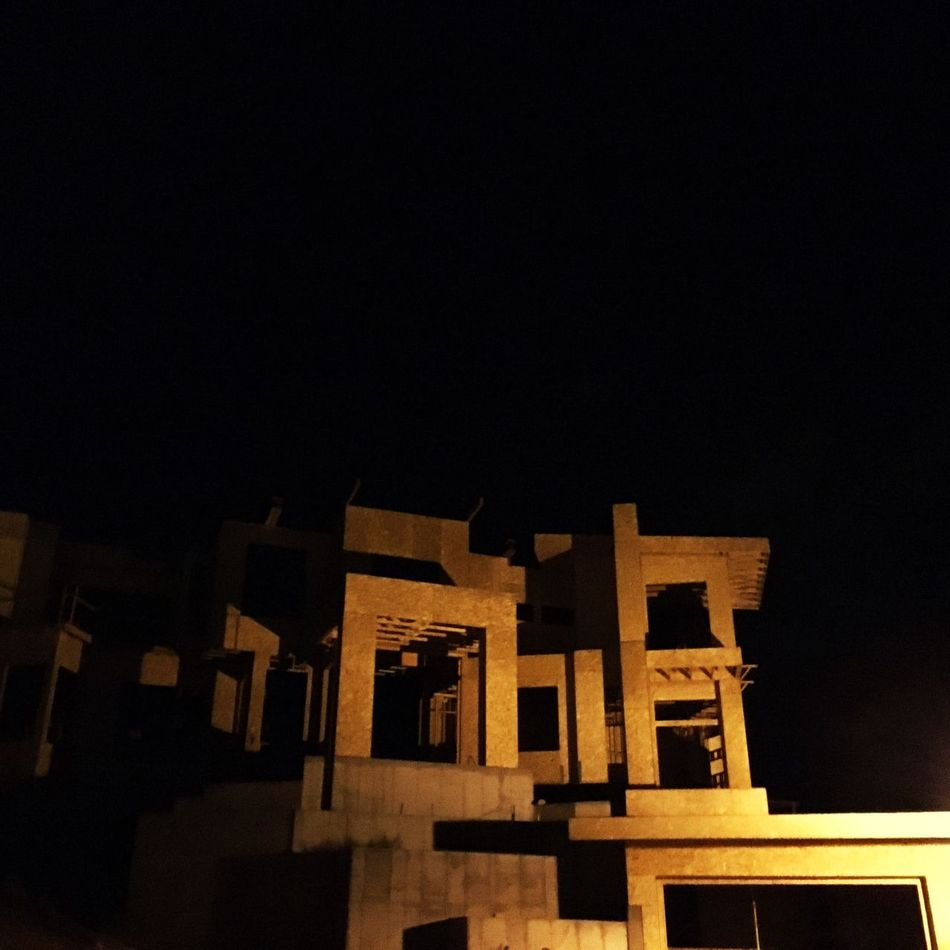 Built Structure Architecture Building Exterior No People Low Angle View Outdoors Sky Night