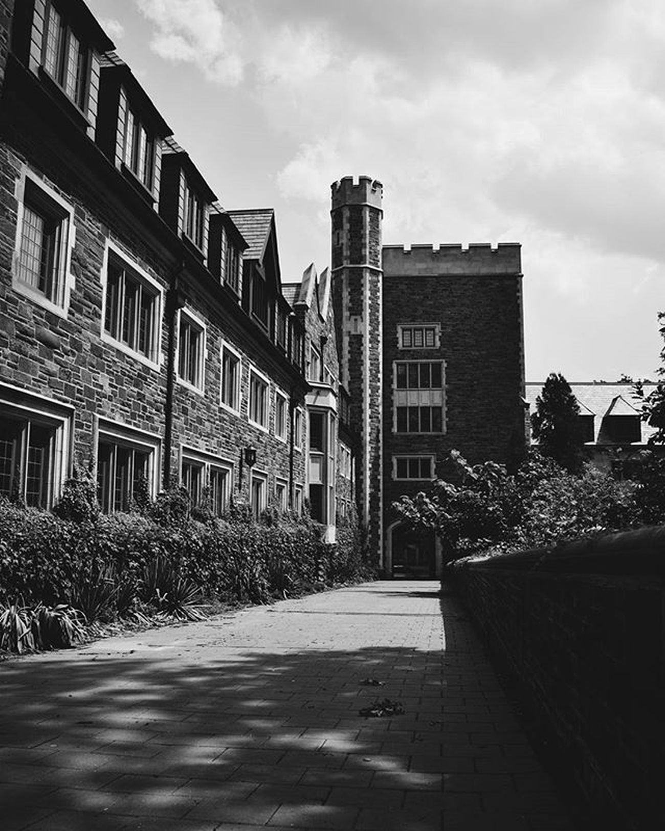 Princeton IvyLeague College Architecture Rock Stone Castle Perspective Vanishingpoint Bnw Bnw_life Bnw_planet Bnw_photo Bnw_society Bnw_captures Nikon D3300 VSCO Vscophile Vscocam