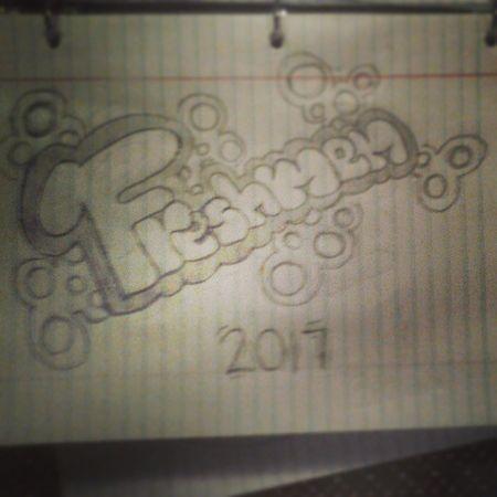 Drawing in spanish class.c: Drawing Freshmen 2017