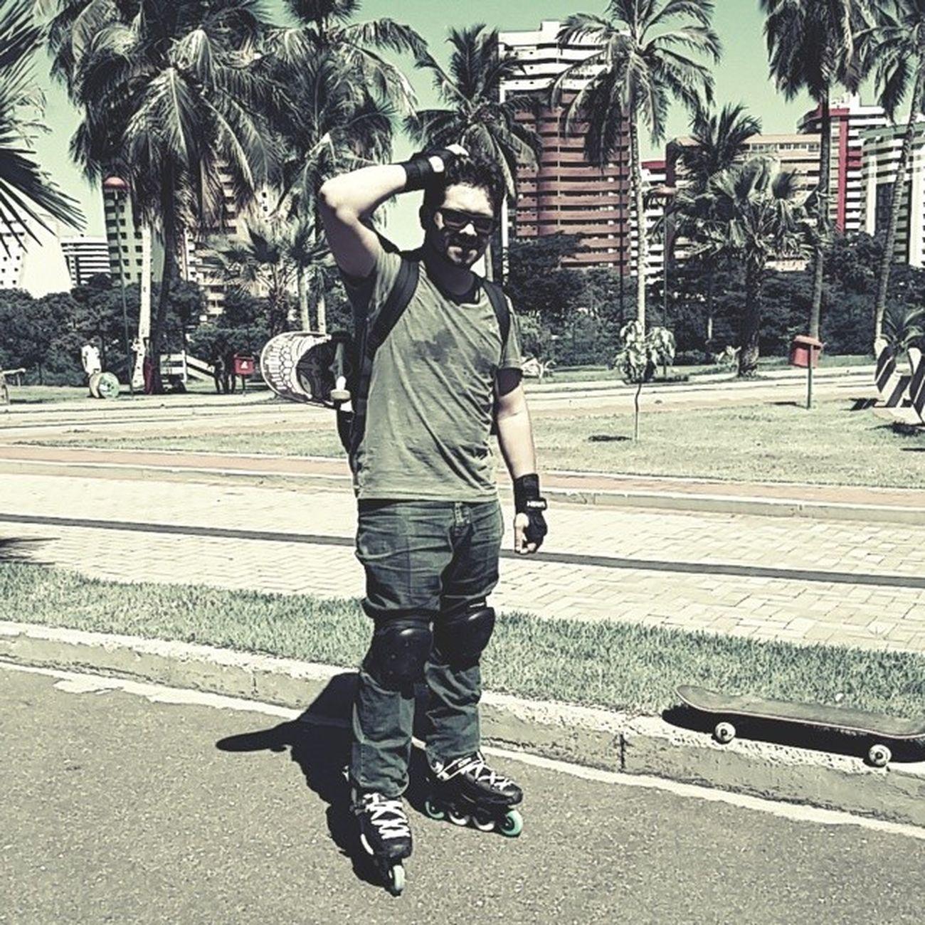 Slalom na Potycabana! ??. Me preparando para o ibirapuera. @lua_fernandesz, Tou fazendo minha parte. Ficando audacioso... Kkkkkkkkk Equilibrio Suabacon Slalom Skate inline