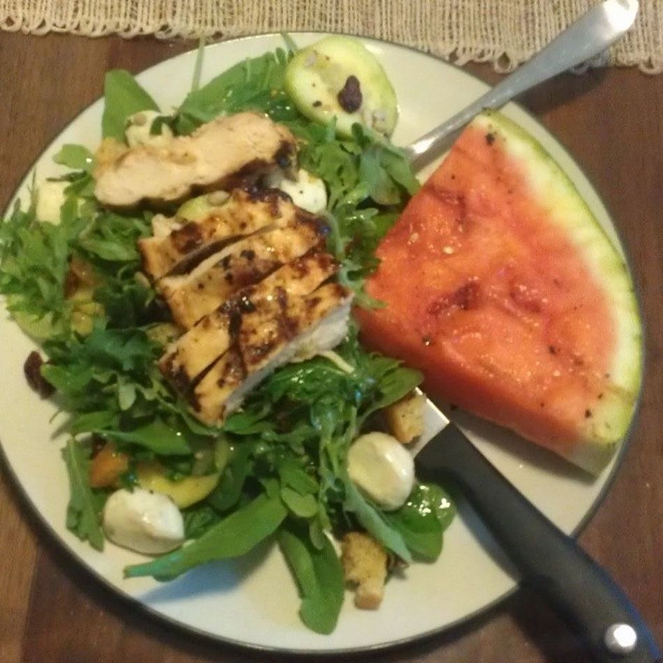 Grilled watermellon Newobsession