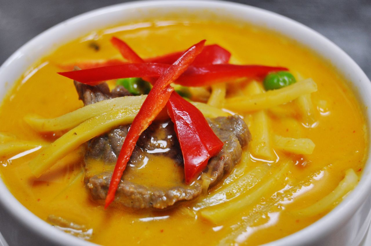 Beef Red Curry Thaicuisine Thaicurry Thaifood Red Curry