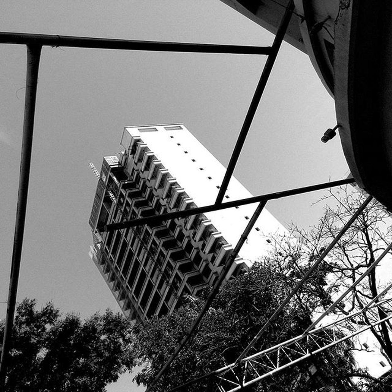 Concrete&metal Blackandwhite Pretoebranco Fotografia Construção