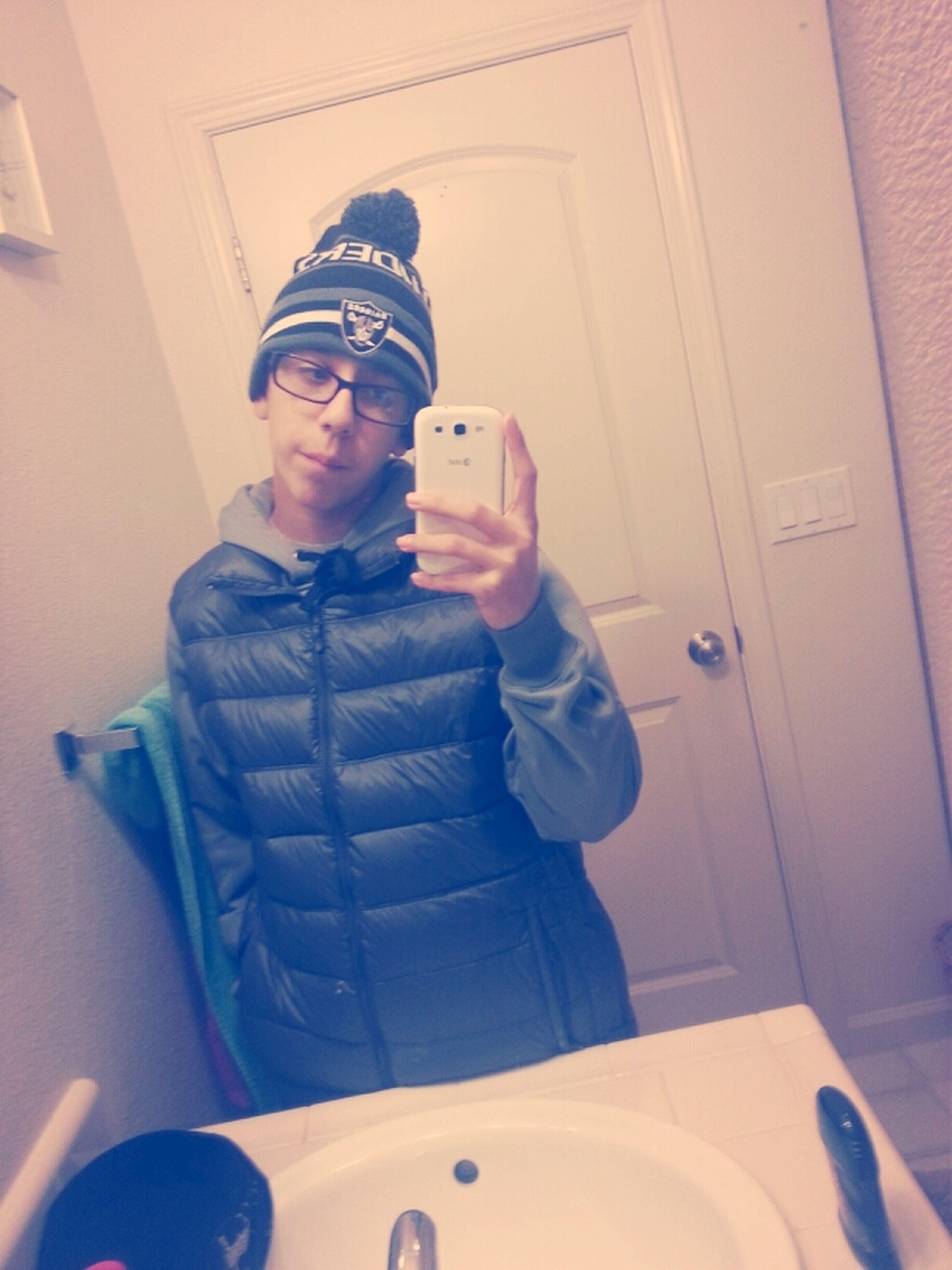 Chillin Cause Im A Thug.