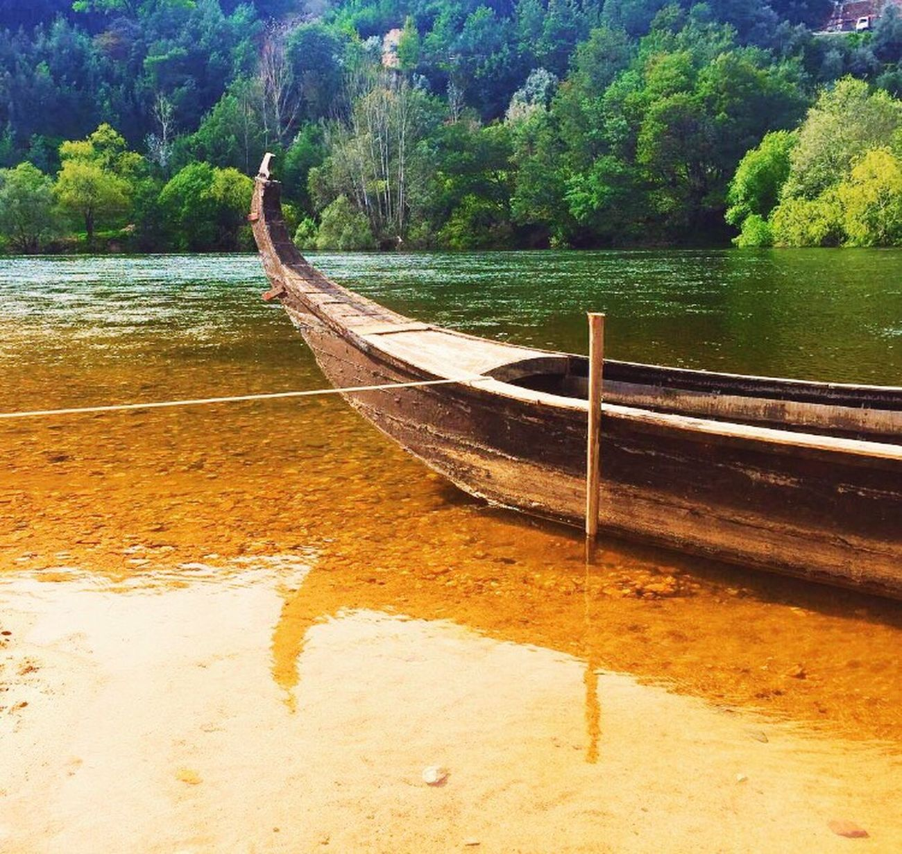 Home is where your Anchor drops 🚣🏻🍀✨ Here Belongs To Me Fluvial River Riverscape Mondego Portugal Nature_collection Nature Culture