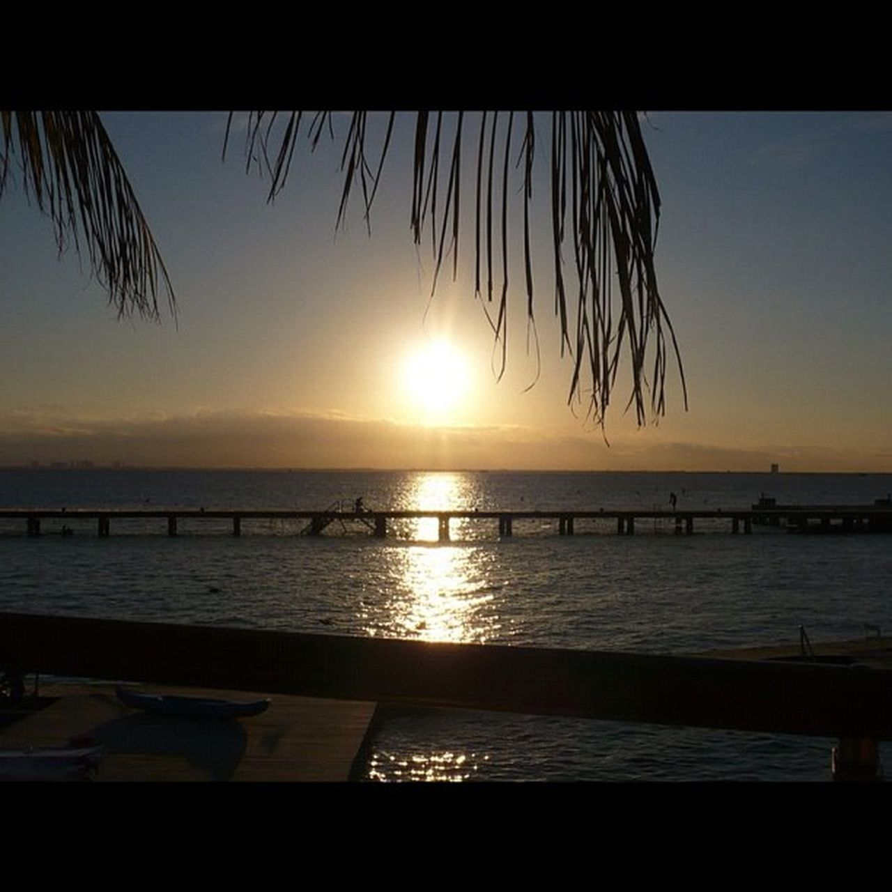 Mexico Cancun Beautiful Sunset Paradise Landscapes With WhiteWall