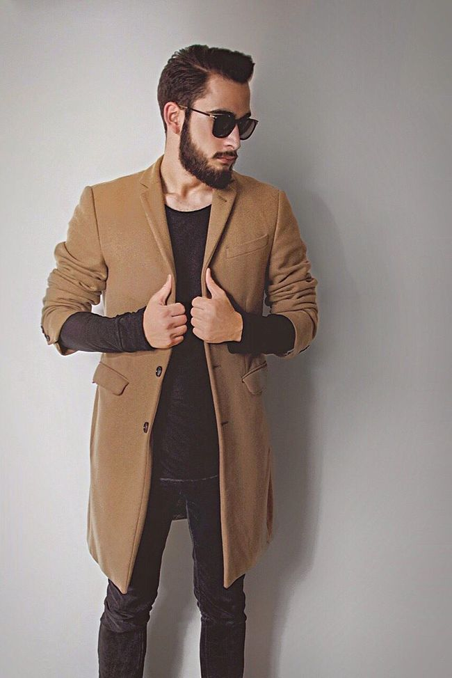 The harm is done Taking Photos Young Adult Standing Fashion Sunglasses Young Man Lifestyles Pose Man French Beardgang Beardlife Bearded Beard Black Camel Classy Style Fashion White ThatsMe