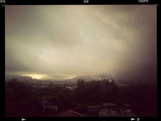 Sol com chuva!