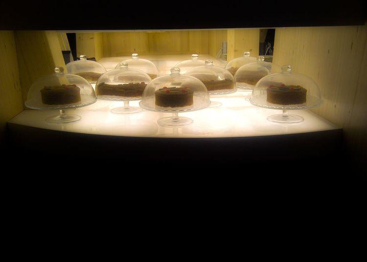 Blackandwhite Cake Cakes Dining Table Illuminated Indoors  No People Plate Table Tea Light