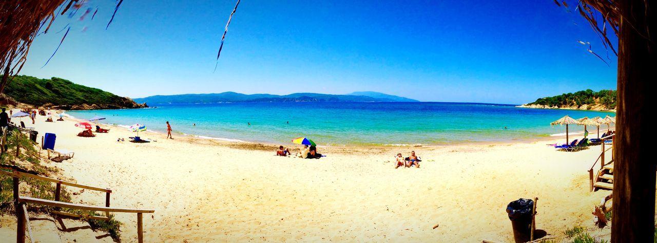 #skiathos #grecia #spiaggia #sabbia #mare #vacanze #asciugamano #relax #scooter #girovagando