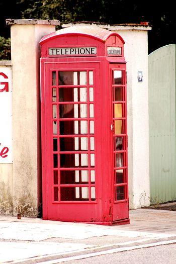 Ancien Photography Cabine Téléphonique