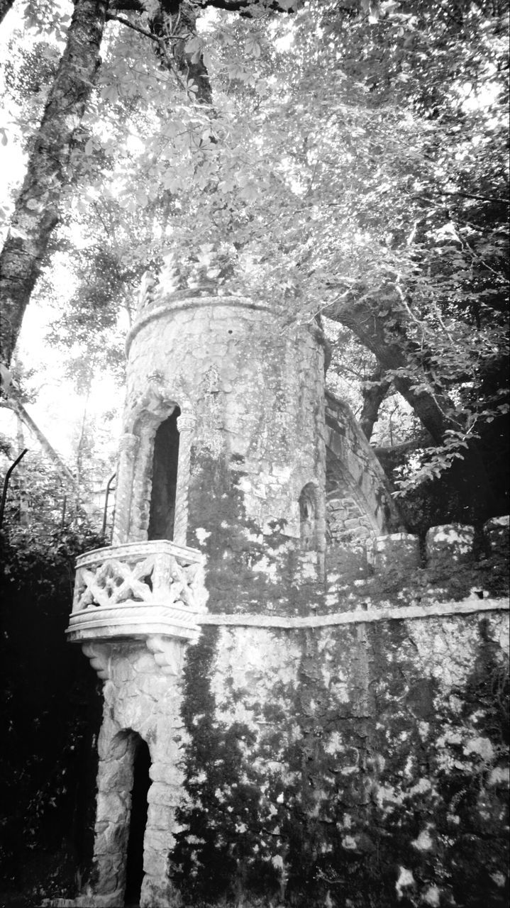 Low Angle View Of Quinta Da Regaleira
