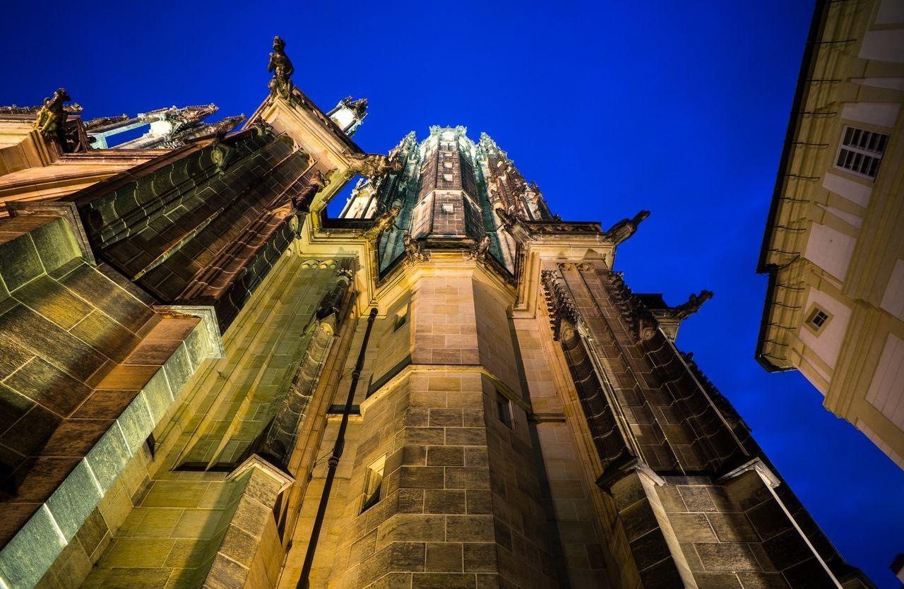 Beautiful stock photos of prague, Architecture, Blue, Building Exterior, Built Structure