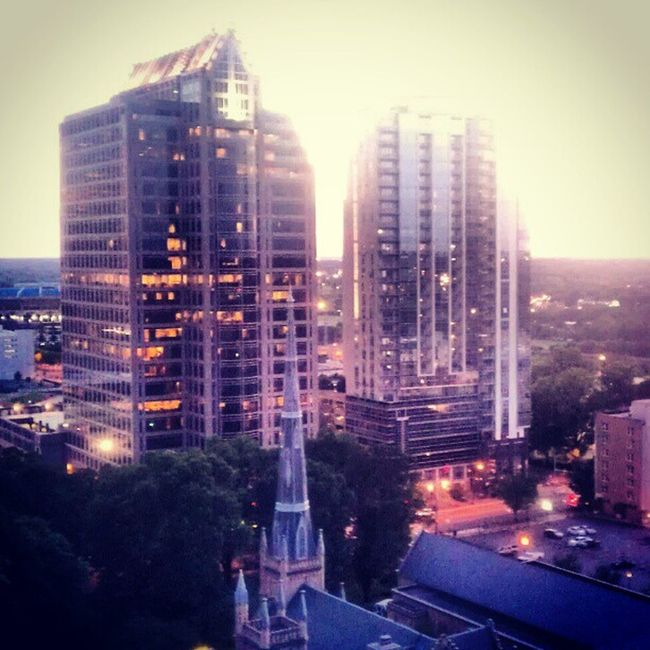 I love my city... Charlotte, NC Bankofamerica Charlotte NC North Carolina Uptown City City Life Cityscape