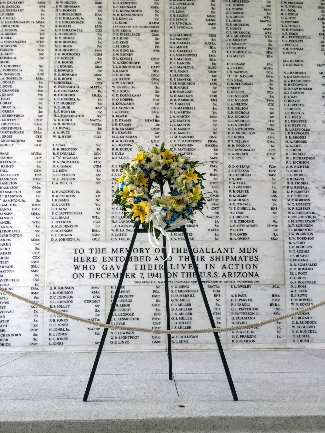 Pearl Harbor Memorial Heroes