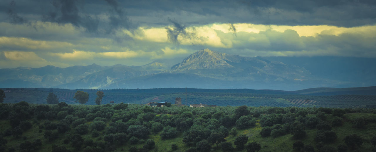 Andalucía Nature Beauty In Nature Cloud - Sky Dehesa Jaen Province Landscape Linares Montañas❤ Mountain Mountain Range Mountains No People Sierra Magina Sierra Morena Tranquil Scene