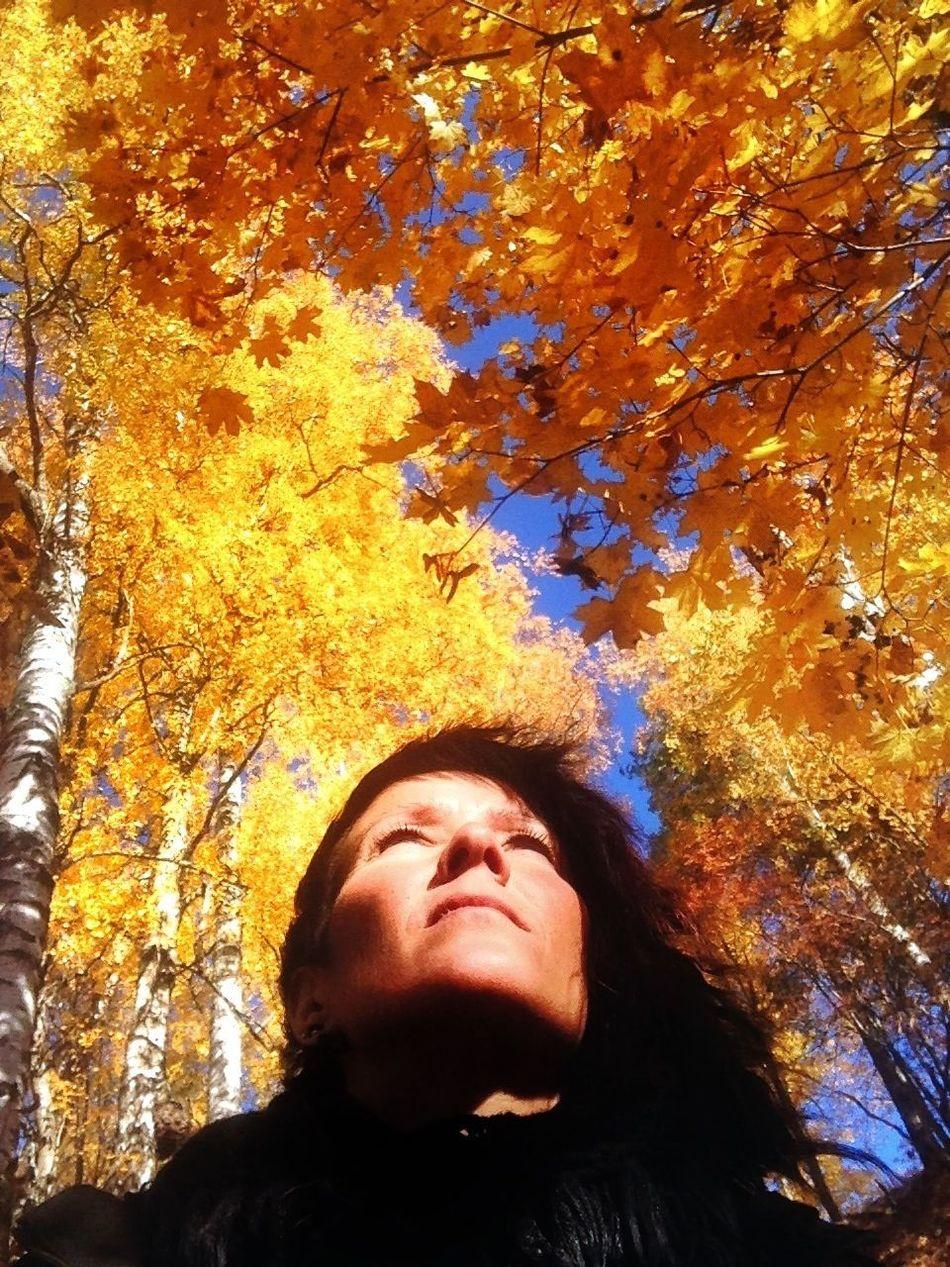 Eye4nature Nature Autumn Selfportrait