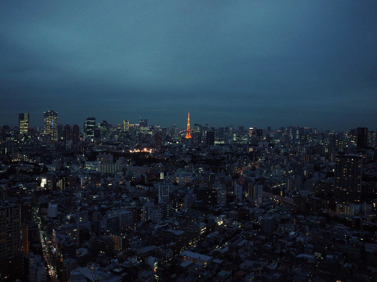 Cityscape City Architecture Tower No People Night Illuminated Quiet Moments Light And Shadow Landscape Landscape_photography Relaxing Getting Inspired Tokyo Tower Tokyo,Japan