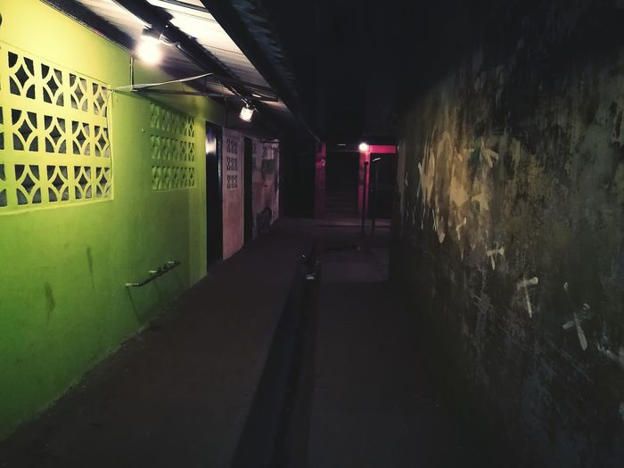 The Way Forward Door No People Illuminated Indoors  La Luz Marca El Camino A Seguir...