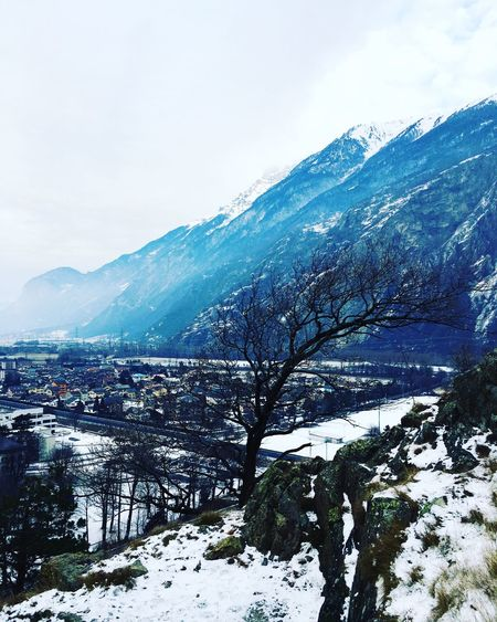 Snow Winter Cold Temperature Mountain Nature Sky Weather Scenics Beauty In Nature Snowcapped Mountain Mountain Range Tranquility Landscape No People Tranquil Scene Outdoors Tree Day Snowcapped Cold