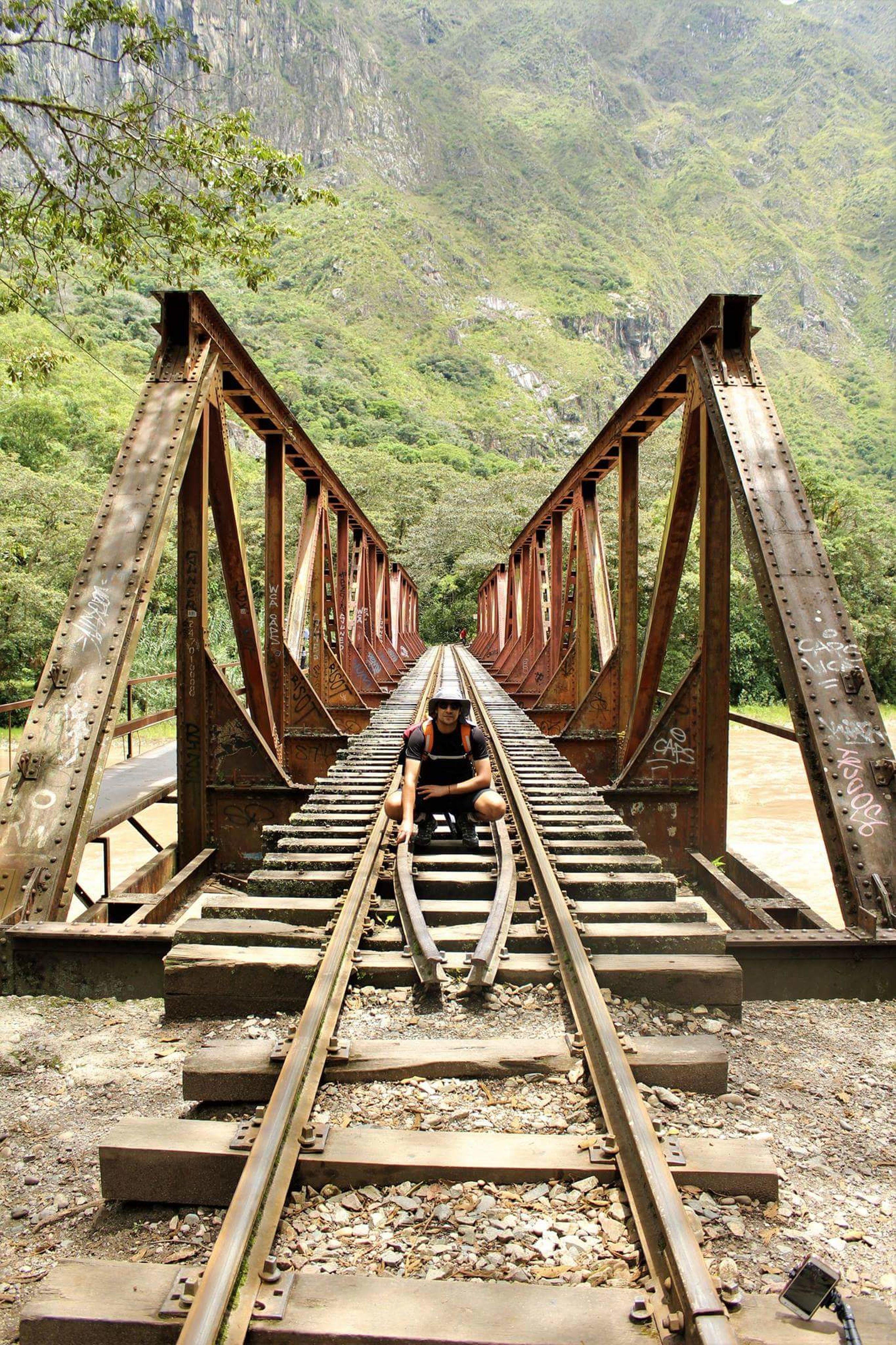 bridge - man made structure, transportation, outdoors, tree, connection, built structure, sky, railroad bridge, nature, no people, railway bridge, architecture, day