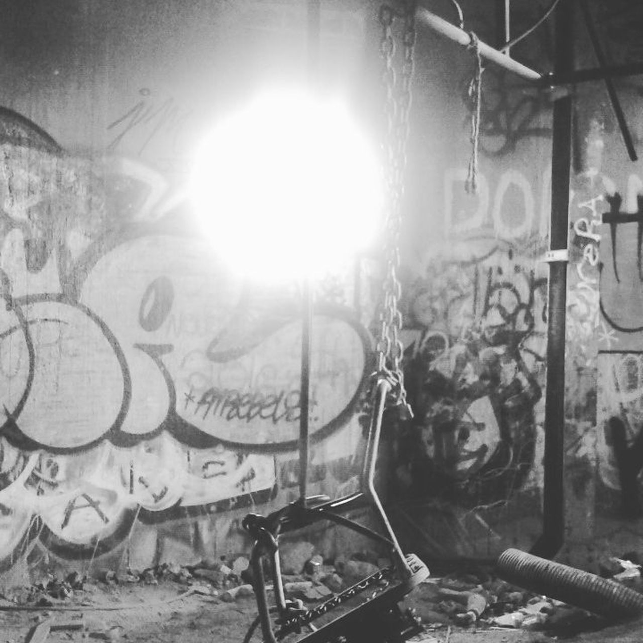 graffiti, abandoned, no people, indoors, day