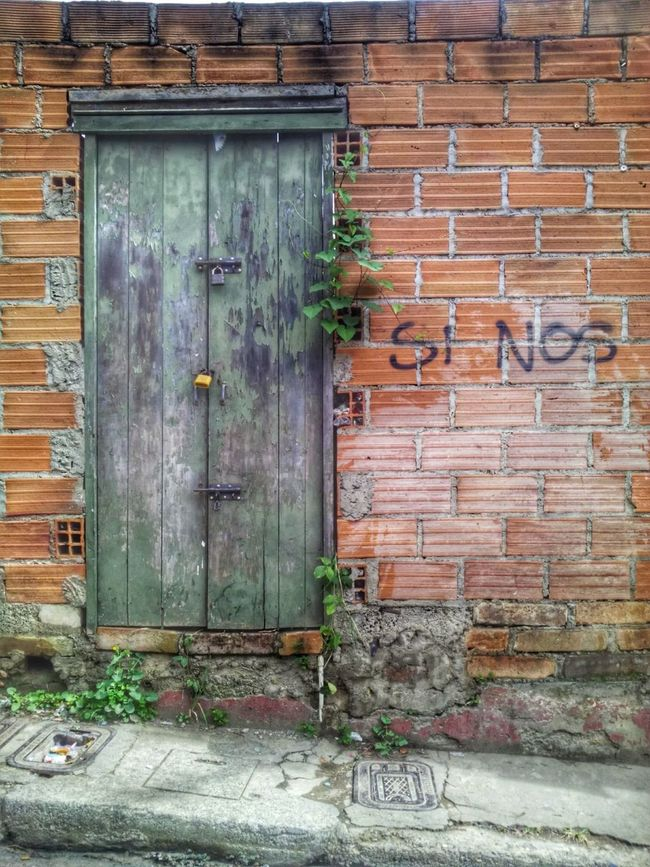 Wall Walking Around Street Nature Plants 🌱 Door Outdoors Old Town