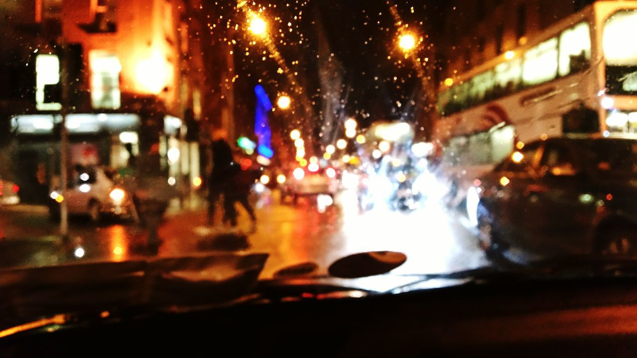Rain rain go away Street Rain Lights Silhouette Nightlife Frominsidemycar First Eyeem Photo