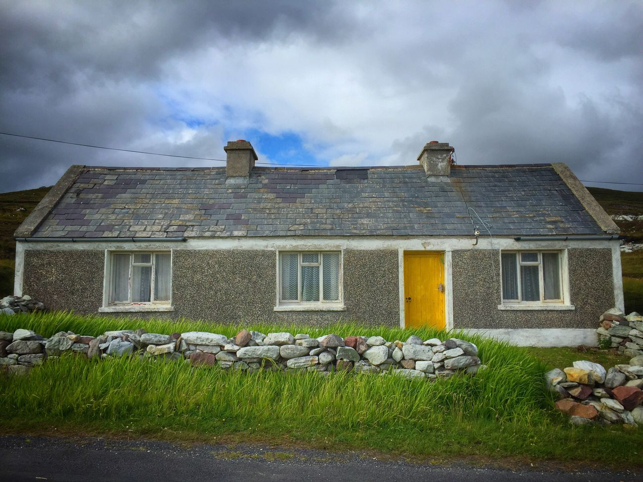 Scenic Island Magical Scenics Picturesque No People 2016 Achill Achill Island Mayo Natural Light County Mayo Wild Atlantic Way Rural Ireland Cottage Traditional Traditional Culture