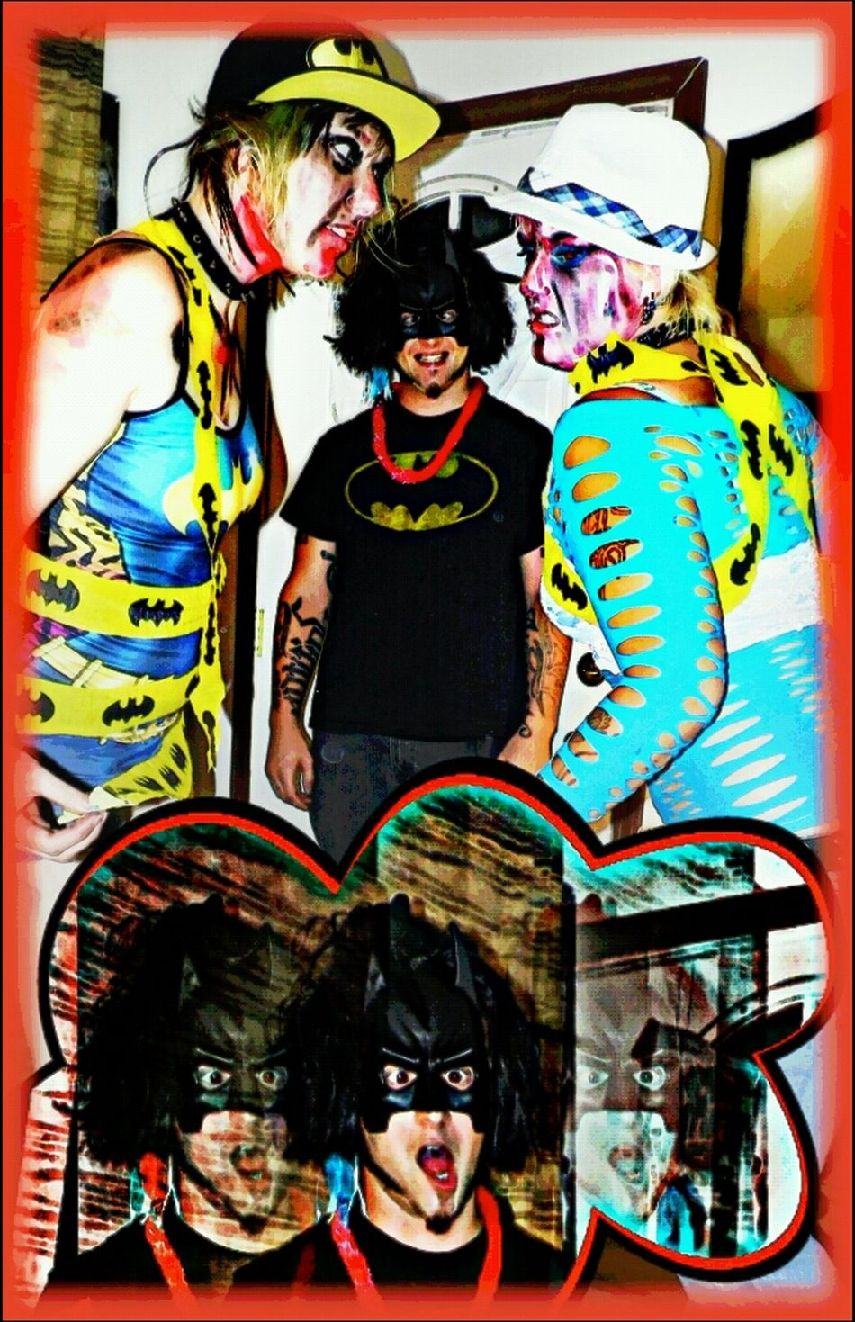 Imposters Collage Yahtzi Kissitkoolaid