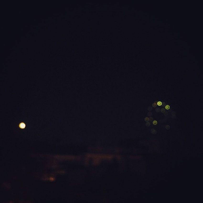 Fuegos Artificiales Terraza Castalla España Castillo Luces Color Noche Luna De Reyes Enero Nice Cute