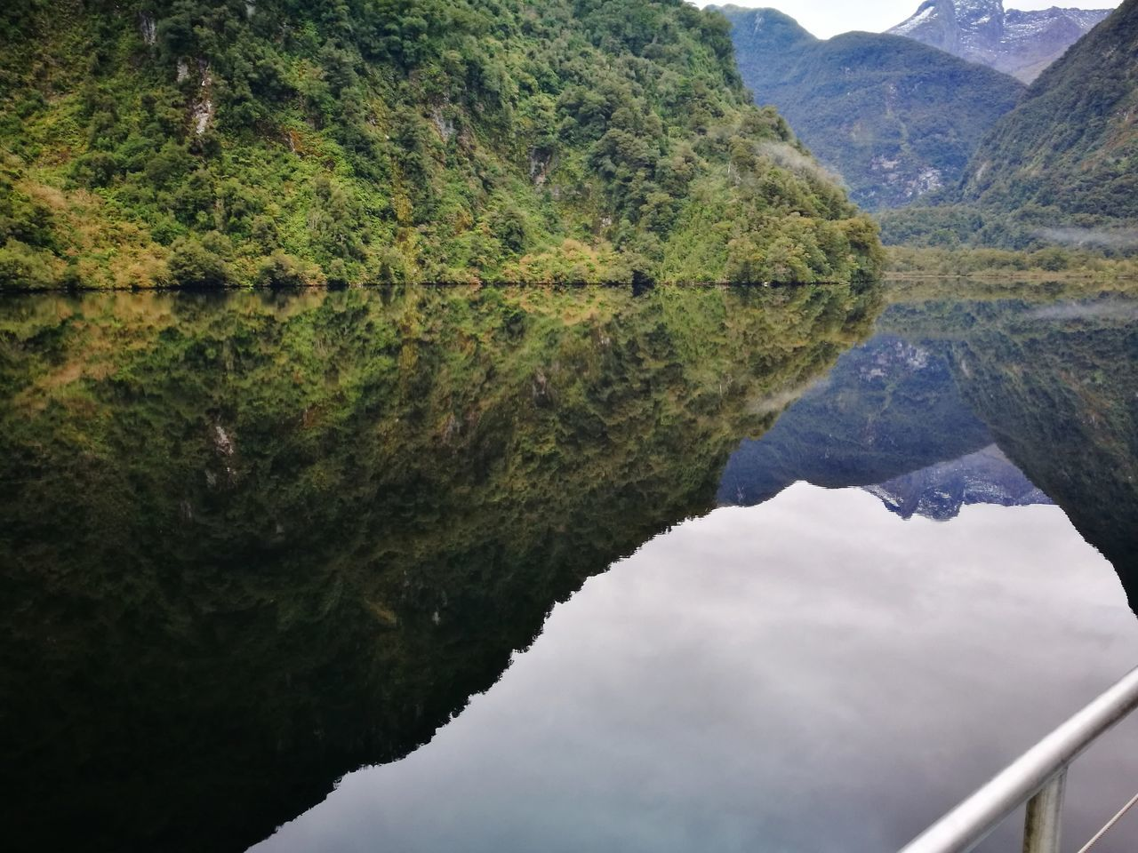 Doubtful Sound Reflection Water Mountain Outdoors Nature Beauty In Nature New Zealand The Great Outdoors - 2017 EyeEm Awards