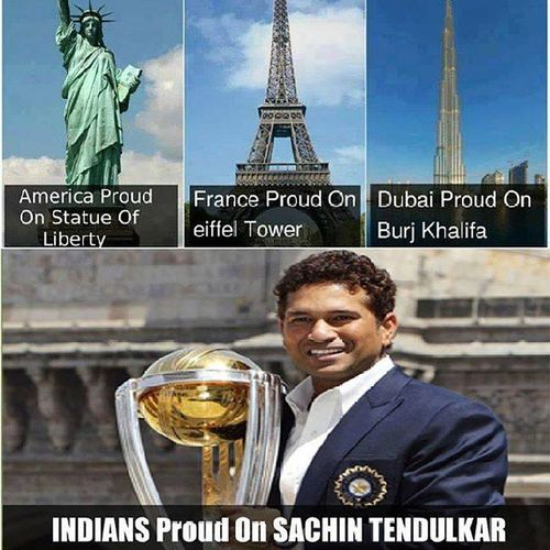 "GOD SACHIN TENDULKAR.... U wer the only reason I started playing cricket when I was small.... U wer the only reason we used to trouble the ground floor pple by asking ""Score kitna hua .... Sachin ne century mara ya nai.... Kitne pe out hua.... kaise out hua... n den used to abuse the bowler who took ur wicket "".... Ur centuries used to bring smile on ma face.... ""Sachin ne century mara... bas ajj to match jeeta hi samaj"".... During school days as soon as the school used to get ova.... I used to run home to c u bat.... n now during collg days used to c the score ol during the lects........... Dis all cmes to an END TODAY..... Bcoz I used to follow cricket bcoz of u..... God Legend SACHIN RAMESH TENDULKAR..... U will b missed and for me its RIP CRICKET :-(:'(:-(:'("