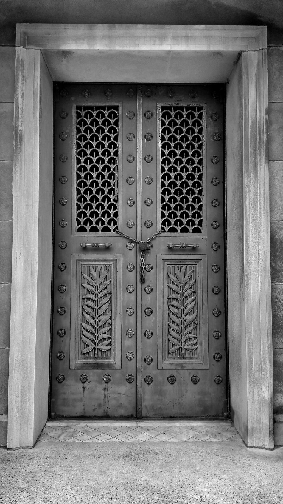 Rest In Peace Taking Photos Paying My Respects Eternal Peace Locked Out... Relaxing Black And White Photography Doorway Standing In Front Of Closed Doors