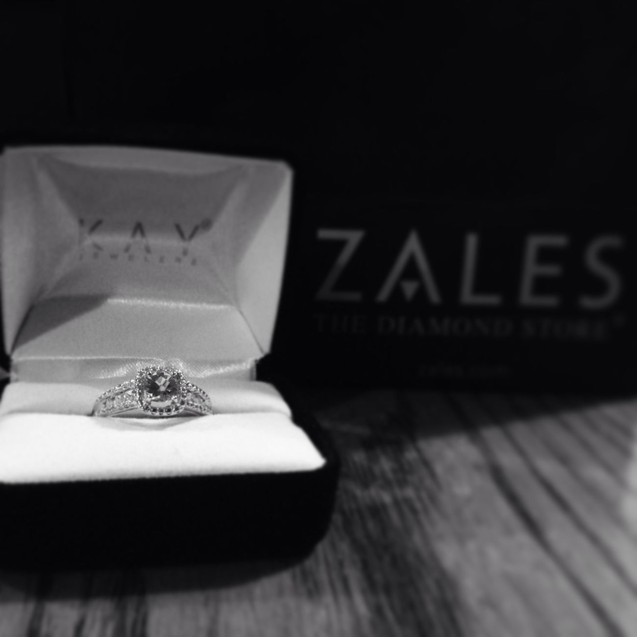 My promise ring that my daddy bought me