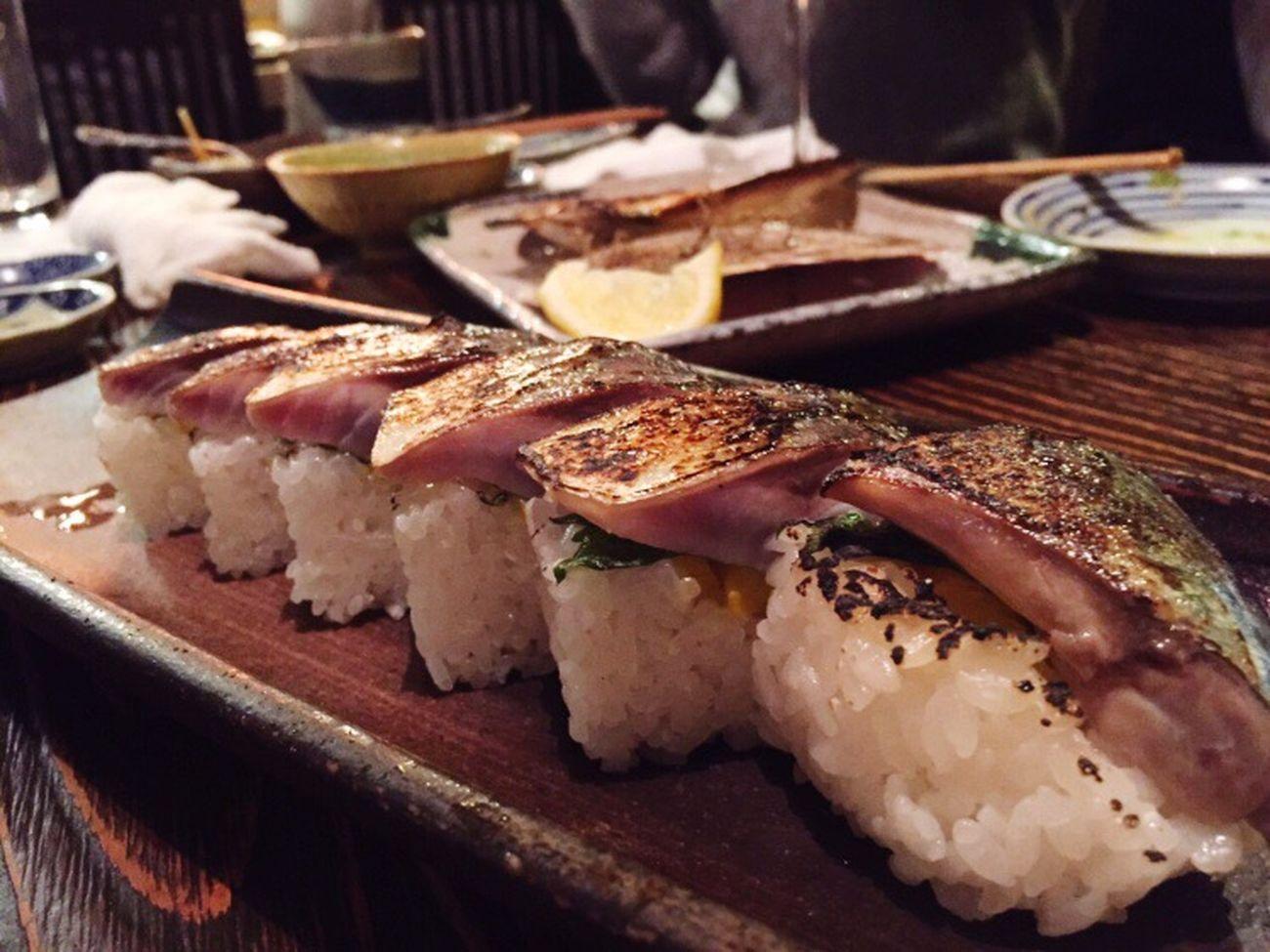 鯖寿司 Food Food And Drink Indoors  Meat Freshness SLICE Close-up Table No People Healthy Eating Sandwich Ready-to-eat Day Fukuoka,Japan Fukuoka