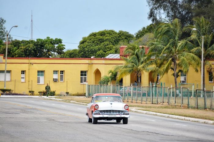 1956 in 2017. Car Transportation Land Vehicle Road Chevy Highway Ride Tourist Tourism Streetphotography Road Trip Havana La Habana Vintage Cuba 1950s Cars Road Vintage Cars Mode Of Transport Transportation Red Car Been There.