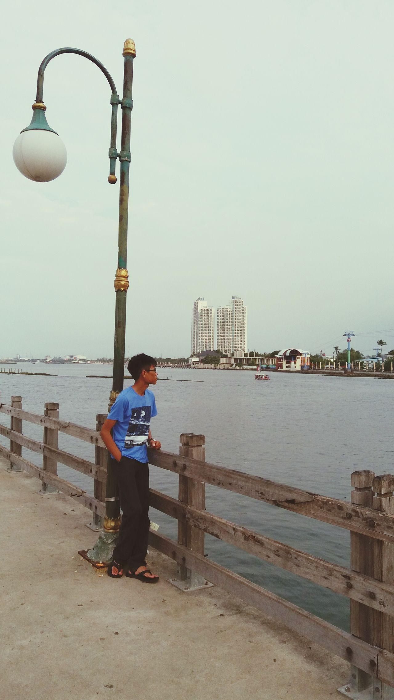 Ancol beach jakarta 17.45 AM First Eyeem Photo
