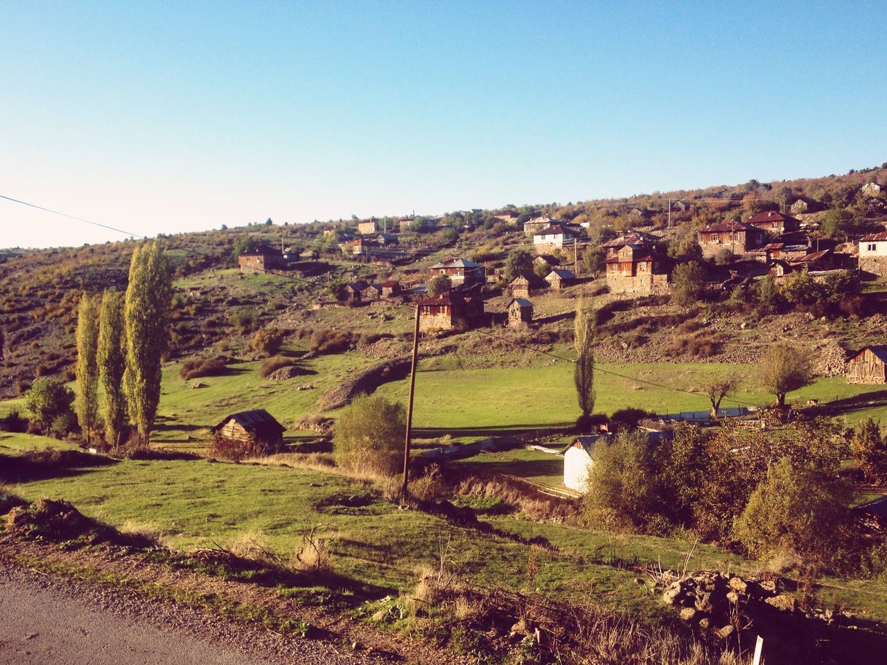 Autumn in Geriş . EyeEmTurkey View of Village . Village Life Landscape EyeEm Best Shots - Landscape Rural Rural Landscape Enjoying The View
