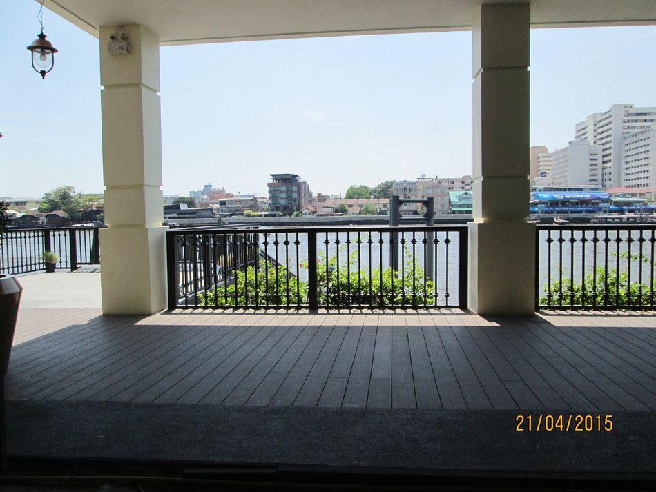 Enjoying The View Chao Phaya River That's Me Photo Of The Day.r Thailand_allshots EyeEm Thailand .