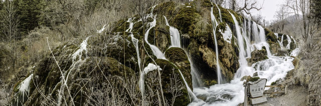 Adventure Beauty Cascade Cascades China Clean Clear Cold Flowing Forest Jiuzhaigou Motion Nature Photography Rocks Shushing Sichuan Stream Tourism Tourist Travel Trees View Water Waterfalls
