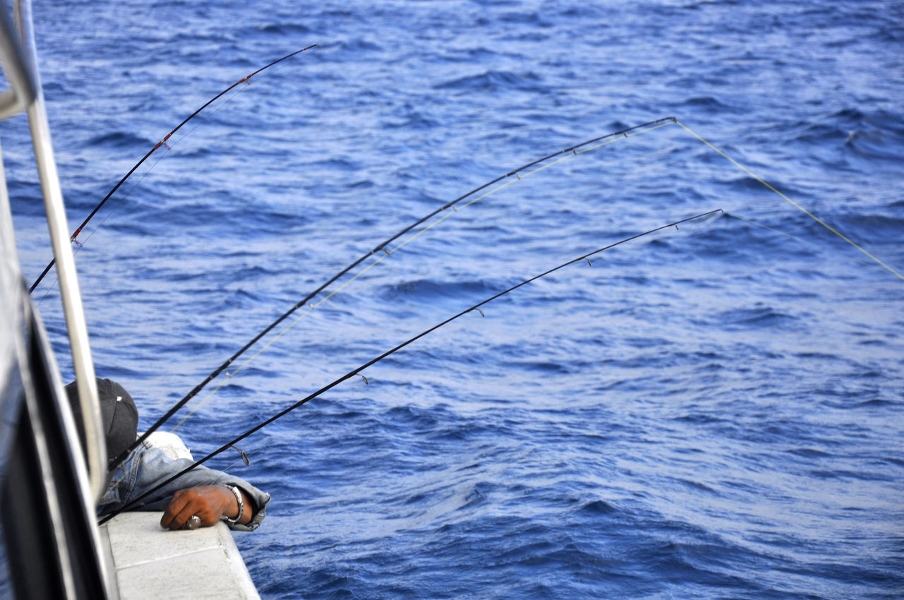 fishing and drunk EyeEmNewHere Fishing Fishing Boat Fishing Time Hand Sea Wave Wave Pattern Waves, Ocean, Nature