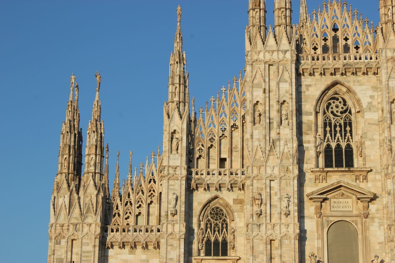Beautiful stock photos of milan, Architecture, Blue, Building Exterior, Built Structure