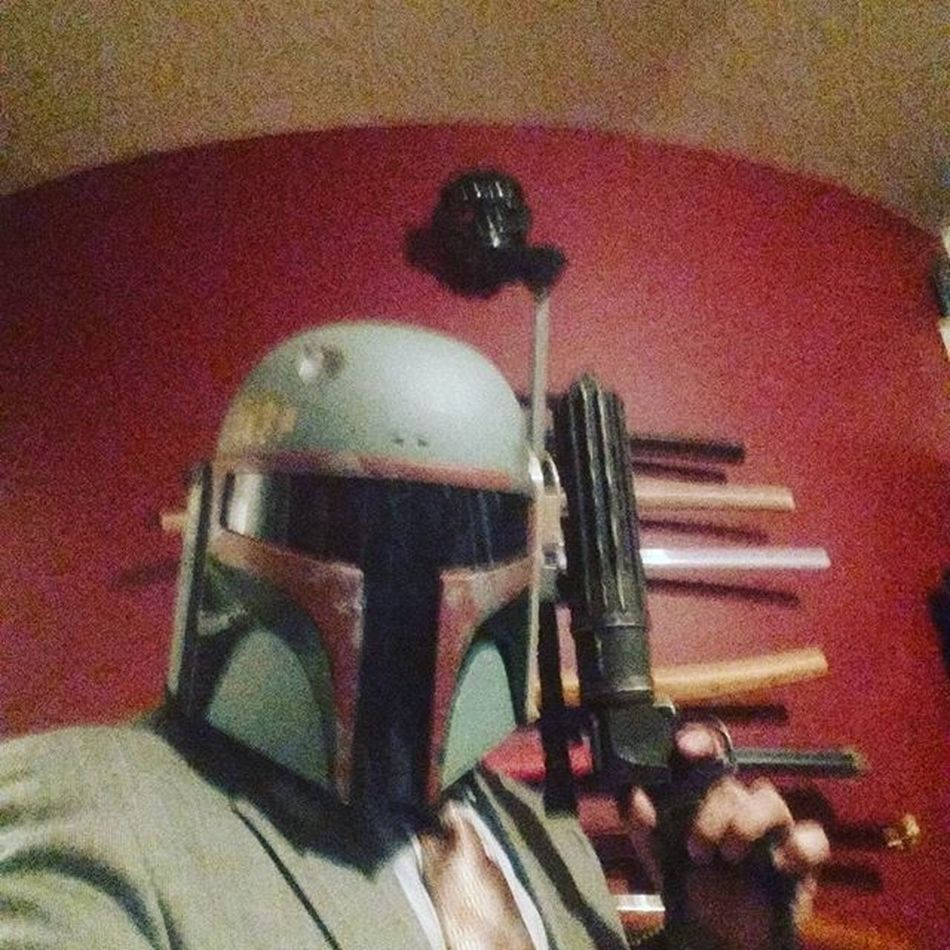 Pew pew right back at you @texas_fett Here's your bounty collected. One Bucketselfie as requested. A hunter's work is never done. Grind Nodisintegrations NoDistractions